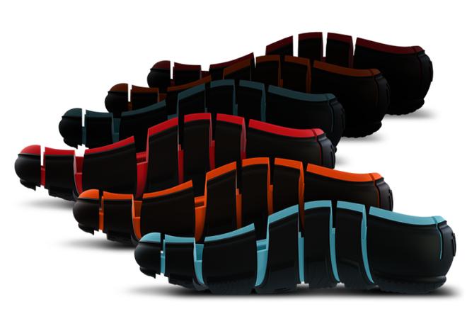 """Đây là đôi """"giày-tông"""" đang gây sốt: Trông kì quặc hết sức mà vẫn thu vốn hàng tỷ trên Indiegogo - Ảnh 4."""