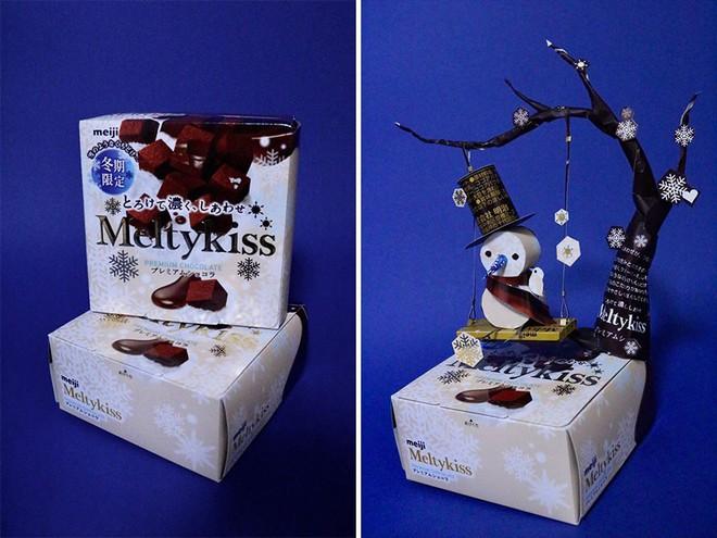 Sáng tạo của nghệ sỹ Nhật Bản: Biến vỏ hộp thành những tuyệt tác nghệ thuật, đưa kèm luôn bài học về tái chế rác thải - Ảnh 12.