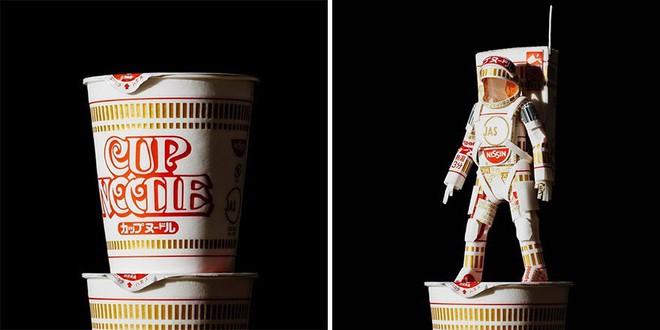 Sáng tạo của nghệ sỹ Nhật Bản: Biến vỏ hộp thành những tuyệt tác nghệ thuật, đưa kèm luôn bài học về tái chế rác thải - Ảnh 15.