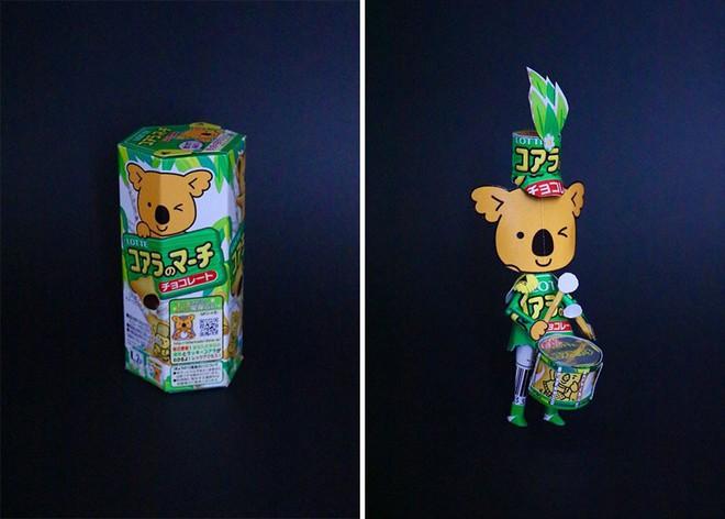 Sáng tạo của nghệ sỹ Nhật Bản: Biến vỏ hộp thành những tuyệt tác nghệ thuật, đưa kèm luôn bài học về tái chế rác thải - Ảnh 16.