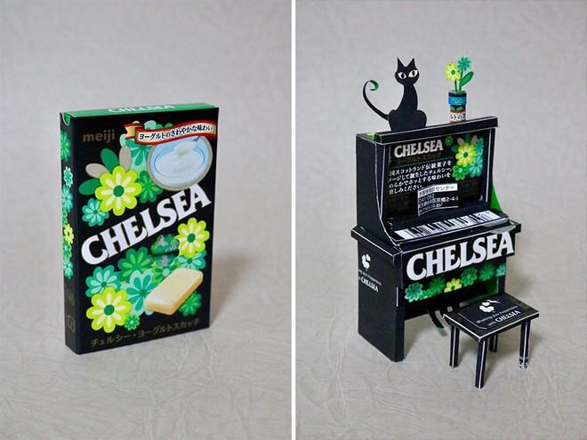 Sáng tạo của nghệ sỹ Nhật Bản: Biến vỏ hộp thành những tuyệt tác nghệ thuật, đưa kèm luôn bài học về tái chế rác thải - Ảnh 5.