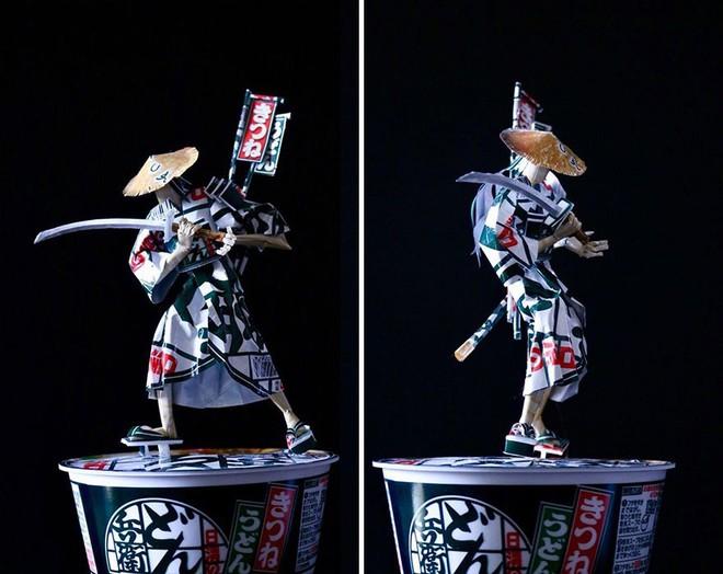 Sáng tạo của nghệ sỹ Nhật Bản: Biến vỏ hộp thành những tuyệt tác nghệ thuật, đưa kèm luôn bài học về tái chế rác thải - Ảnh 7.