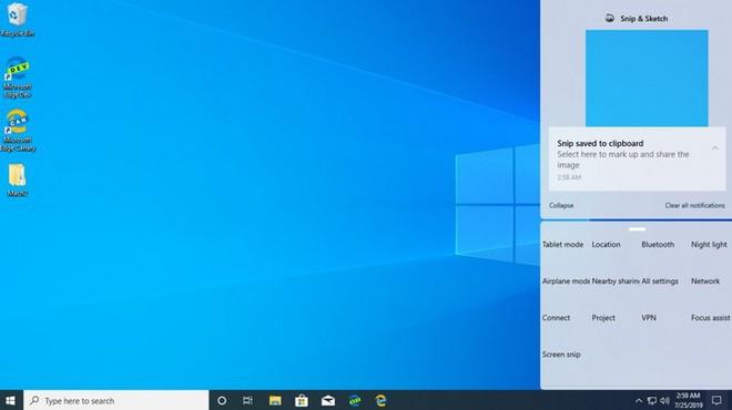 Microsoft đang thử nghiệm thiết kế Action Center mới, các góc bo cong trông mềm mại và hiện đại hơn - Ảnh 2.
