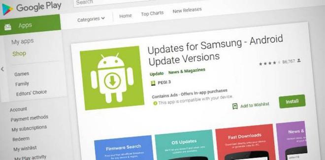 10 triệu người dùng bị lừa tải về ứng dụng giả mạo, cam kết sẽ cập nhật firmware mới nhất cho smartphone của Samsung - Ảnh 2.