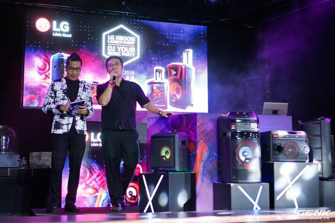 LG ra mắt dòng loa XBOOM dành cho tín đồ mê Karaoke và DJ, giá khởi điểm từ 4 triệu đồng - Ảnh 2.