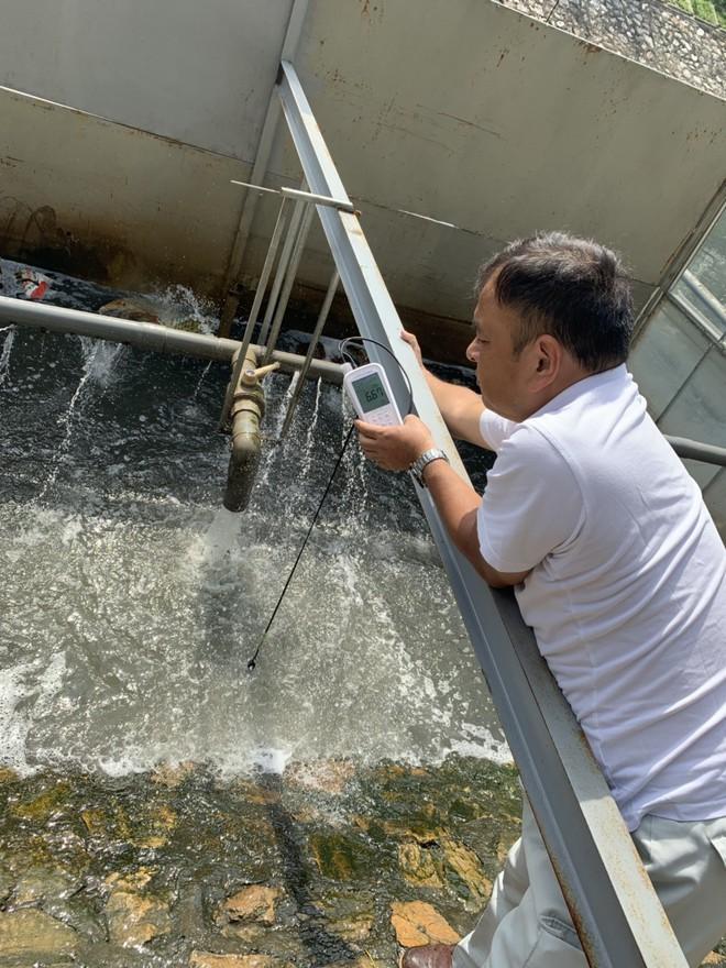 Sông Tô Lịch nước trong, nhìn rõ đáy bùn đang phân hủy nhờ công nghệ Nhật - Ảnh 3.