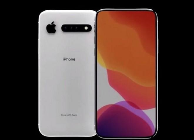 Ngắm ý tưởng thú vị về iPhone 11 với 3 camera sau nằm ngang và thay đổi vị trí logo Táo Khuyết - Ảnh 1.