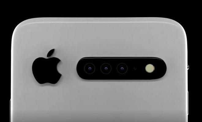 Ngắm ý tưởng thú vị về iPhone 11 với 3 camera sau nằm ngang và thay đổi vị trí logo Táo Khuyết - Ảnh 2.