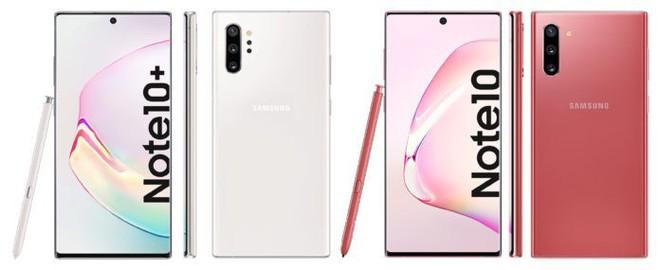 Đây là toàn bộ các màu sắc của Galaxy Note 10 sẽ được Samsung trình làng vào ngày 7/8 - Ảnh 3.
