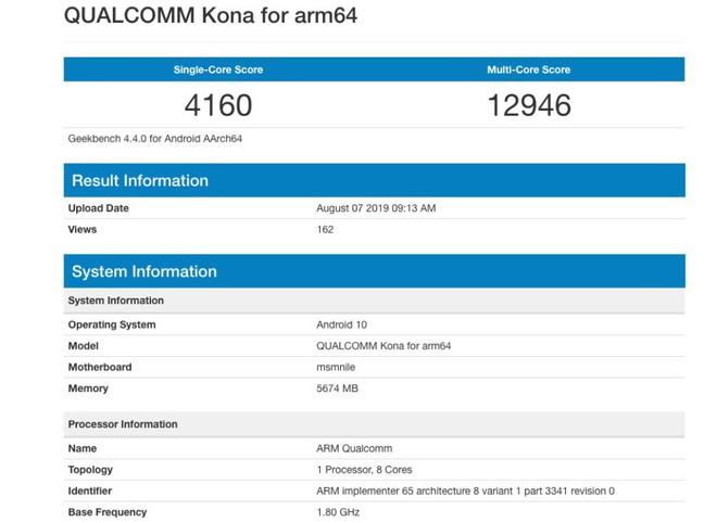 Tạm gác Note 10 sang một bên, vì đây là điểm benchmark của chip Snapdragon 865 sẽ được trang bị cho Galaxy S11 - Ảnh 1.