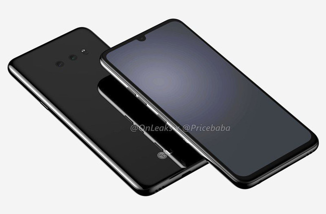 LG G8X lộ diện: Màn hình giọt nước, camera kép, lần đầu tiên có cảm biến vân tay dưới màn hình - Ảnh 2.