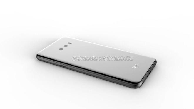 LG G8X lộ diện: Màn hình giọt nước, camera kép, lần đầu tiên có cảm biến vân tay dưới màn hình - Ảnh 6.