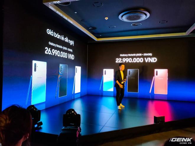 Galaxy Note10 và Note10+ chính thức ra mắt tại Việt Nam: giá từ 22,9 triệu đồng, mở bán 23/8 - Ảnh 1.