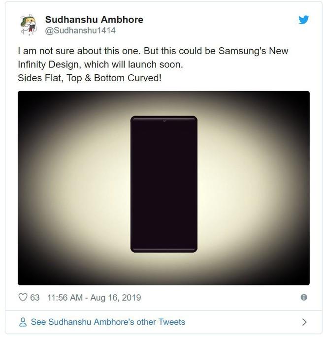 Thiết kế smartphone mới bị lộ của Samsung làm người dùng phải cầu trời nó không thành hiện thực - Ảnh 2.