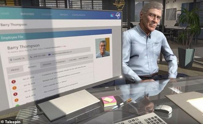 Đã có công cụ thực tế ảo giúp các nhà quản lý có thể thực hành kỹ năng sa thải nhân viên - Ảnh 2.