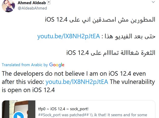 Chàng lập trình viên Libya vô danh, lỗ hổng tai hại của Apple và lý do iOS 12.4 bị hacker bẻ khóa chỉ sau vài tuần ra mắt - Ảnh 3.
