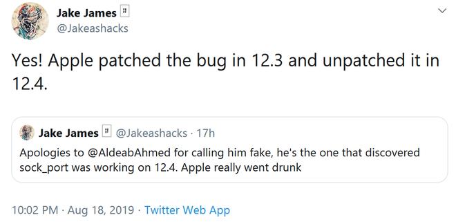 Chàng lập trình viên Libya vô danh, lỗ hổng tai hại của Apple và lý do iOS 12.4 bị hacker bẻ khóa chỉ sau vài tuần ra mắt - Ảnh 4.
