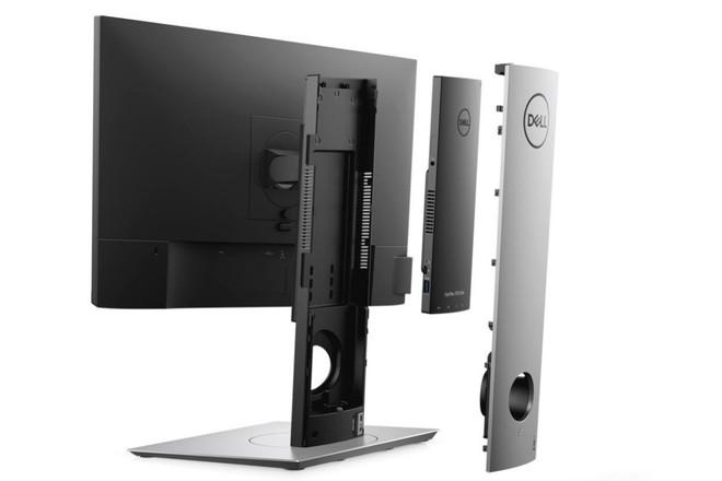 Dell OptiPlex 7070 Ultra: chiếc PC tí hon nhét trong chân đế màn hình - Ảnh 2.