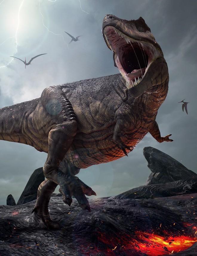 Bất ngờ phát hiện tổ tiên của khủng long bạo chúa chỉ có kích thước nhỉnh hơn một con chó - Ảnh 2.