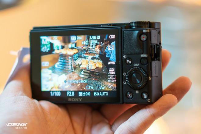 Trên tay nhanh bộ đôi máy ảnh cao cấp Sony RX100 VII và Alpha A7R IV tại Việt Nam - Ảnh 7.