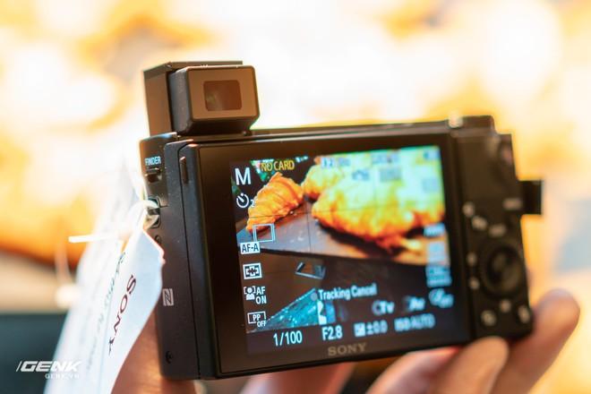 Trên tay nhanh bộ đôi máy ảnh cao cấp Sony RX100 VII và Alpha A7R IV tại Việt Nam - Ảnh 9.