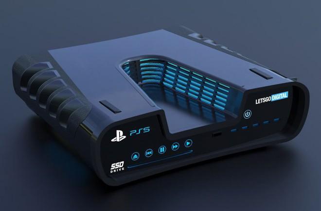 Thiết kế Playstation 5 cuối cùng cũng bị lộ, mang kiểu dáng khoa học viễn tưởng đầy hầm hố? - Ảnh 4.