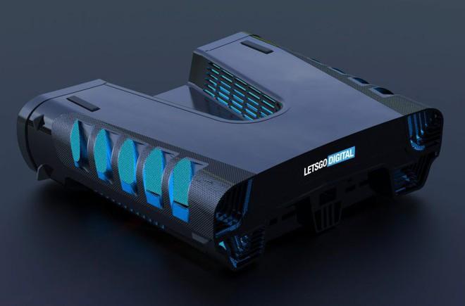 Thiết kế Playstation 5 cuối cùng cũng bị lộ, mang kiểu dáng khoa học viễn tưởng đầy hầm hố? - Ảnh 5.