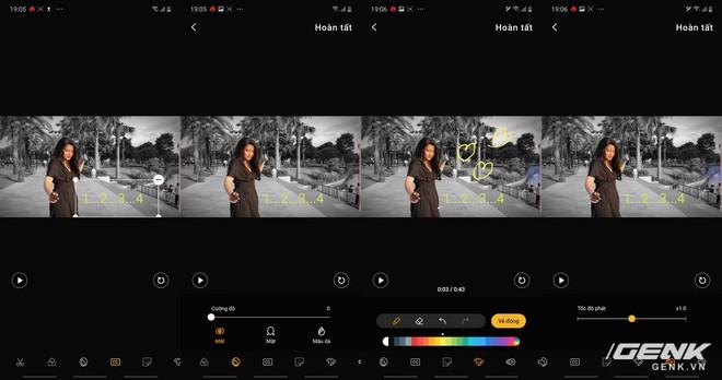 Trải nghiệm khả năng quay, dựng video mới trên Galaxy Note10: hướng tới đối tượng streamer, nhiều hiệu ứng lạ, chỉnh hậu kỳ dễ dàng - Ảnh 14.