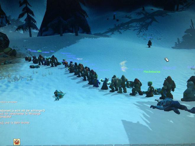 Game thủ World of WarCraft xếp hàng dài như chờ mua iPhone, kiên nhẫn đợi đến lượt được vào giết boss - Ảnh 7.