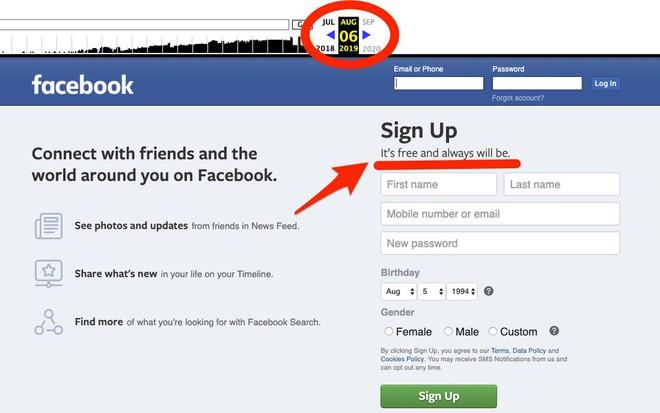 Facebook thay đổi slogan đã tồn tại 10 năm qua, không còn miễn phí và sẽ luôn như thế nữa - Ảnh 1.