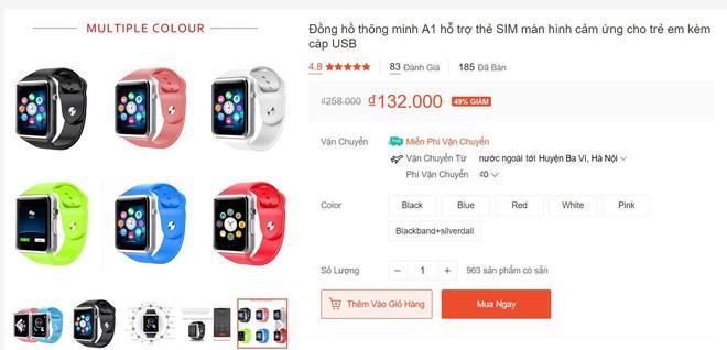Review nhanh gọn Smartwatch cho trẻ em giá 99K: Có khe SIM, thẻ nhớ, cho nghe nhạc chụp ảnh nhưng cái quan trọng nhất lại thiếu - Ảnh 1.