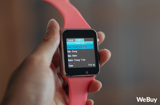 Review nhanh gọn Smartwatch cho trẻ em giá 99K: Có khe SIM, thẻ nhớ, cho nghe nhạc chụp ảnh nhưng cái quan trọng nhất lại thiếu - Ảnh 6.