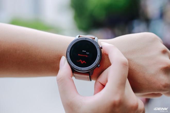 Trên tay Amazfit GTR: Smartwatch thiết kế đẹp, pin siêu trâu dùng 74 ngày, giá 3.9 triệu đồng - Ảnh 12.