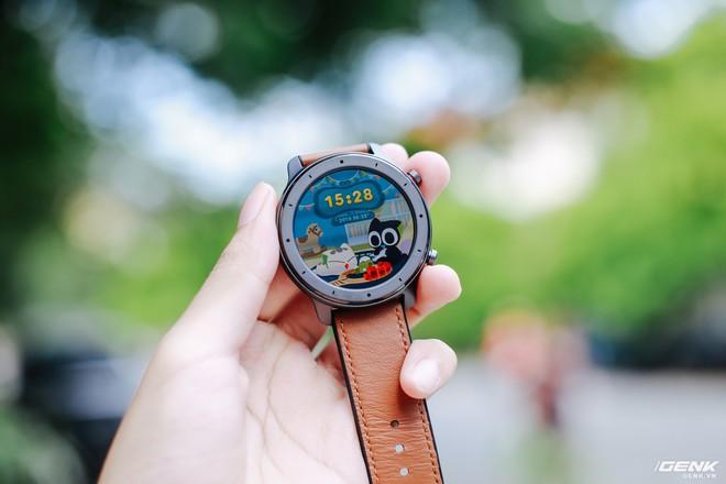 Trên tay Amazfit GTR: Smartwatch thiết kế đẹp, pin siêu trâu dùng 74 ngày, giá 3.9 triệu đồng - Ảnh 2.