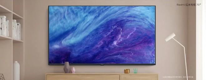 Redmi TV với màn hình 4K HDR 70 inch, RAM 2 GB vừa chính thức ra mắt với giá 531 USD - Ảnh 1.