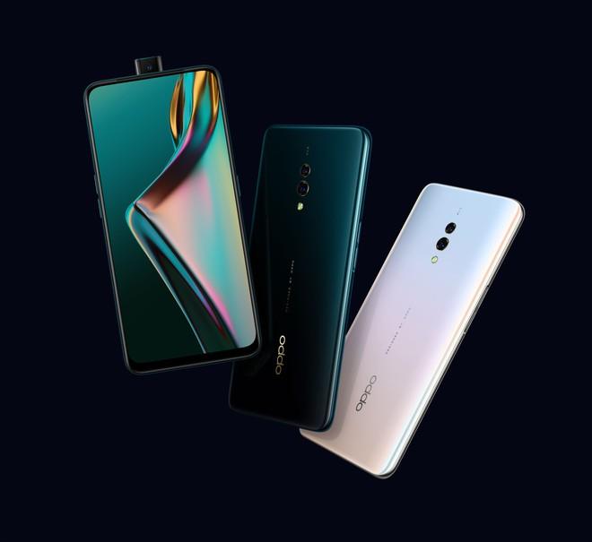 Quyết chiến Xiaomi và Huawei, Oppo ra mắt K3 tại Việt Nam với chip Snapdragon 710, camera thò thụt, vân tay dưới màn hình, giá 6.99 triệu - Ảnh 1.