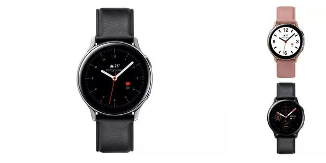 Samsung ra mắt Galaxy Watch Active 2: Vòng xoay cảm ứng, hỗ trợ đo ECG, giá từ 279 USD - Ảnh 1.