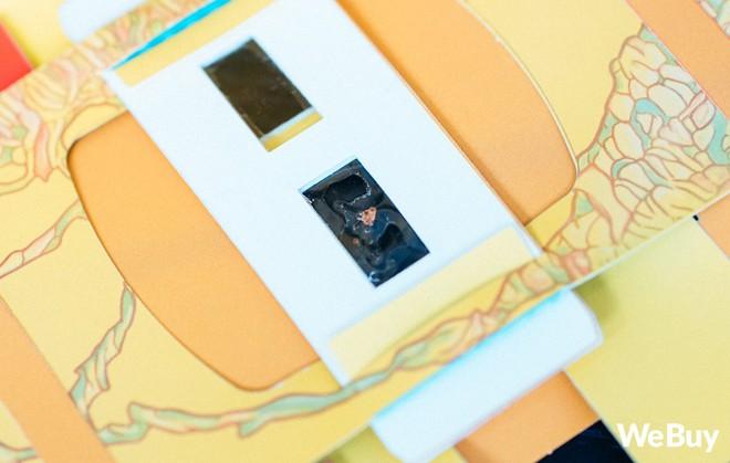 Dùng thử kính hiển vi giấy Foldscope: Zoom 140x, nhìn xuyên sợi tóc, trẻ con học rất tốt mà người lớn chơi cũng vui không kém - Ảnh 12.