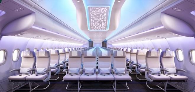 Cận cảnh dàn nội thất siêu hiện đại sắp được trang bị cho các máy bay của Airbus trong tương lai - Ảnh 3.