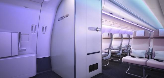 Cận cảnh dàn nội thất siêu hiện đại sắp được trang bị cho các máy bay của Airbus trong tương lai - Ảnh 5.