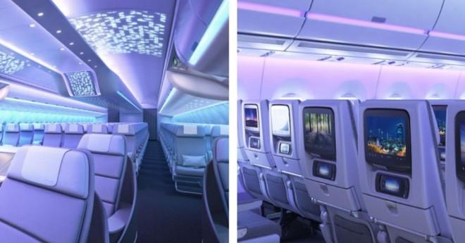 Cận cảnh dàn nội thất siêu hiện đại sắp được trang bị cho các máy bay của Airbus trong tương lai - Ảnh 6.