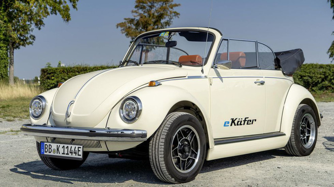 Con bọ của Volkswagen hồi sinh với thiết kế cổ điển đi kèm động cơ điện - Ảnh 5.