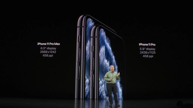 Apple ra mắt iPhone 11 Pro và iPhone 11 Pro Max: Thiết kế pro, màn hình pro, hiệu năng pro, pin pro, camera pro và mức giá cũng pro - Ảnh 5.