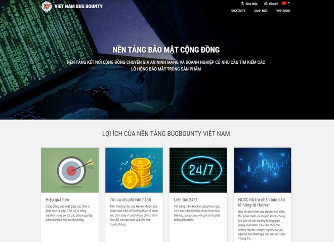 Ra mắt nền tảng tiền thưởng bảo mật Vietnam Bug Bounty, hacker mũ trắng Việt Nam có sân chơi mới - Ảnh 1.