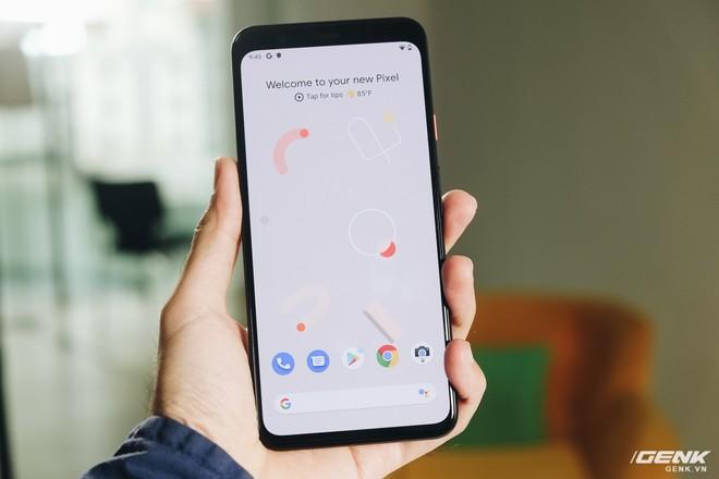 Trên tay Google Pixel 4 XL chưa ra mắt nhưng đã bị lộ tại Việt Nam - Ảnh 1.