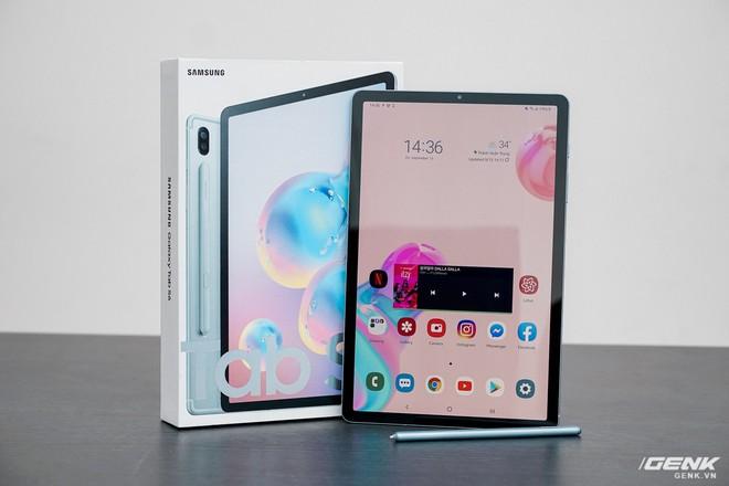 Mở hộp Galaxy Tab S6: Tablet Android tốt nhất nay đã tốt hơn, thêm trackpad, SPen sạc không dây, vân tay trong màn hình và camera kép - Ảnh 1.
