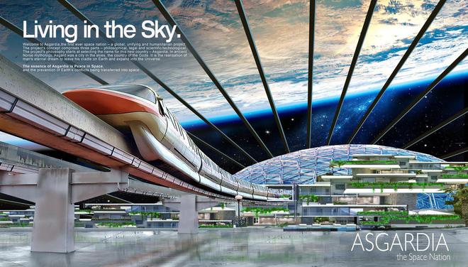 Đề phòng Trái Đất diệt vong, quốc gia vũ trụ Asgardia sẽ xây dựng thành phố ngoài không gian làm nơi ở cho 15 triệu người - Ảnh 3.