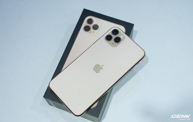 iPhone 11 Pro Max về Việt Nam trước ngày Apple mở bán - Ảnh 1.