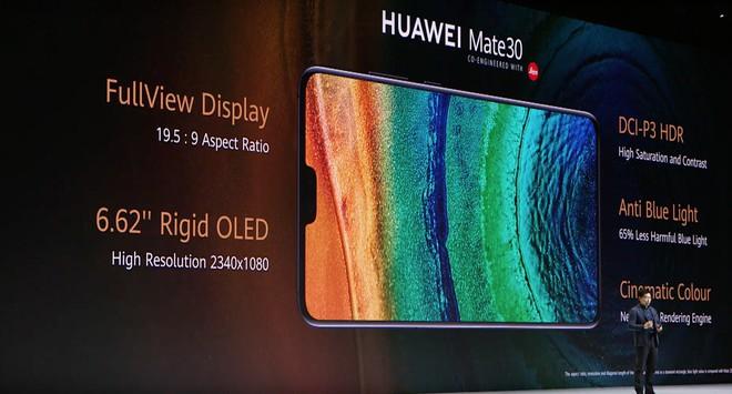 Huawei Mate 30 và Mate 30 Pro ra mắt: Màn hình chân trời, slow-motion 7680fps, loại bỏ nút vật lý, không có dịch vụ Google - Ảnh 6.