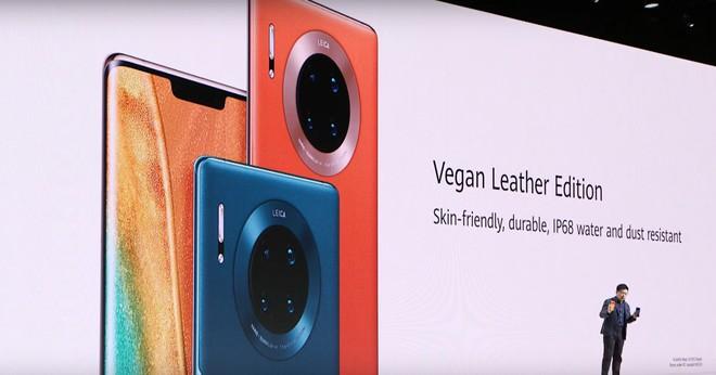 Huawei Mate 30 và Mate 30 Pro ra mắt: Màn hình chân trời, slow-motion 7680fps, loại bỏ nút vật lý, không có dịch vụ Google - Ảnh 7.